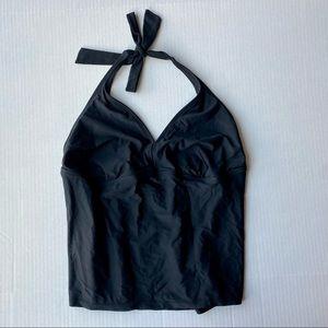Catalina Black Tankini Swim Top